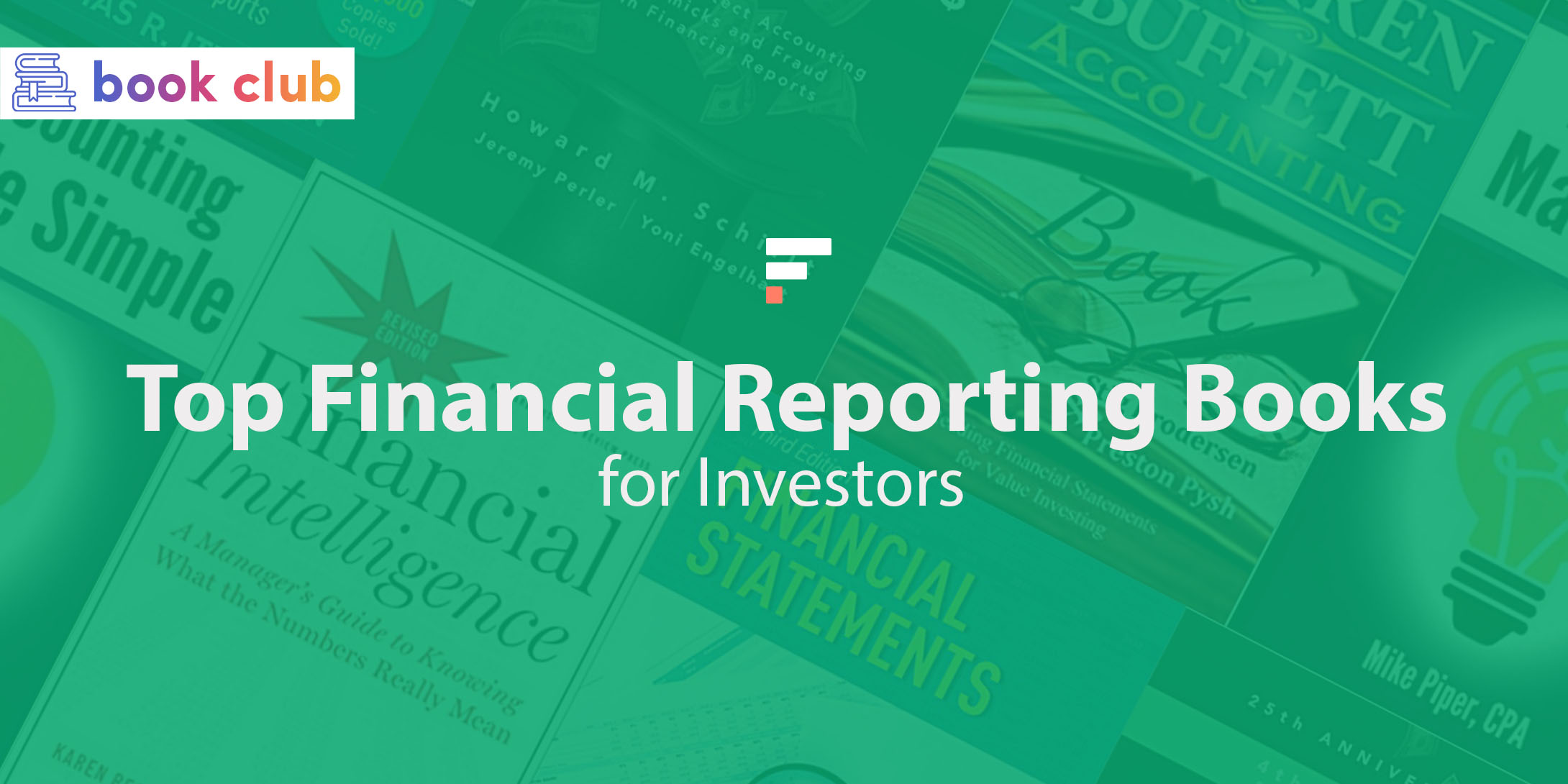 Financial reporting books for investors