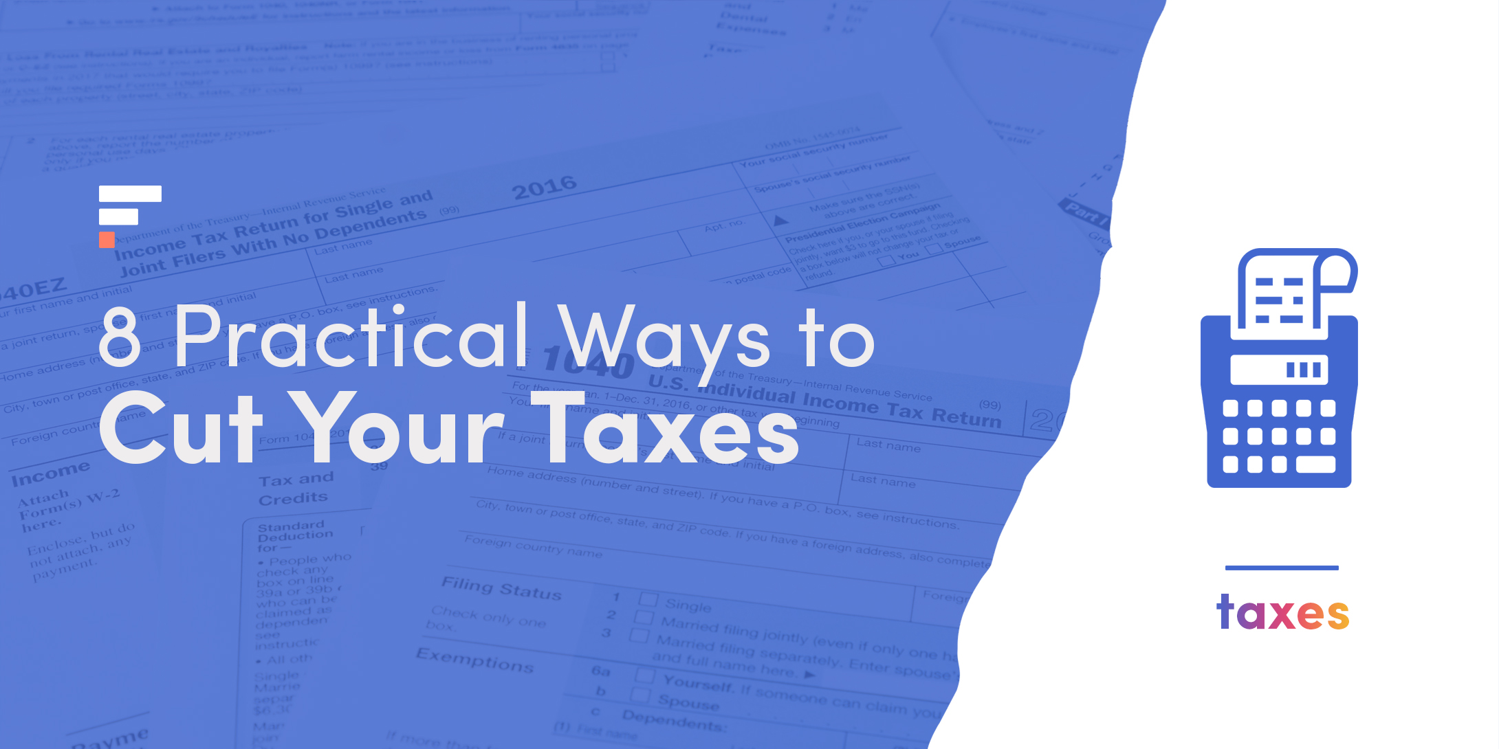 Ways to cut your taxes