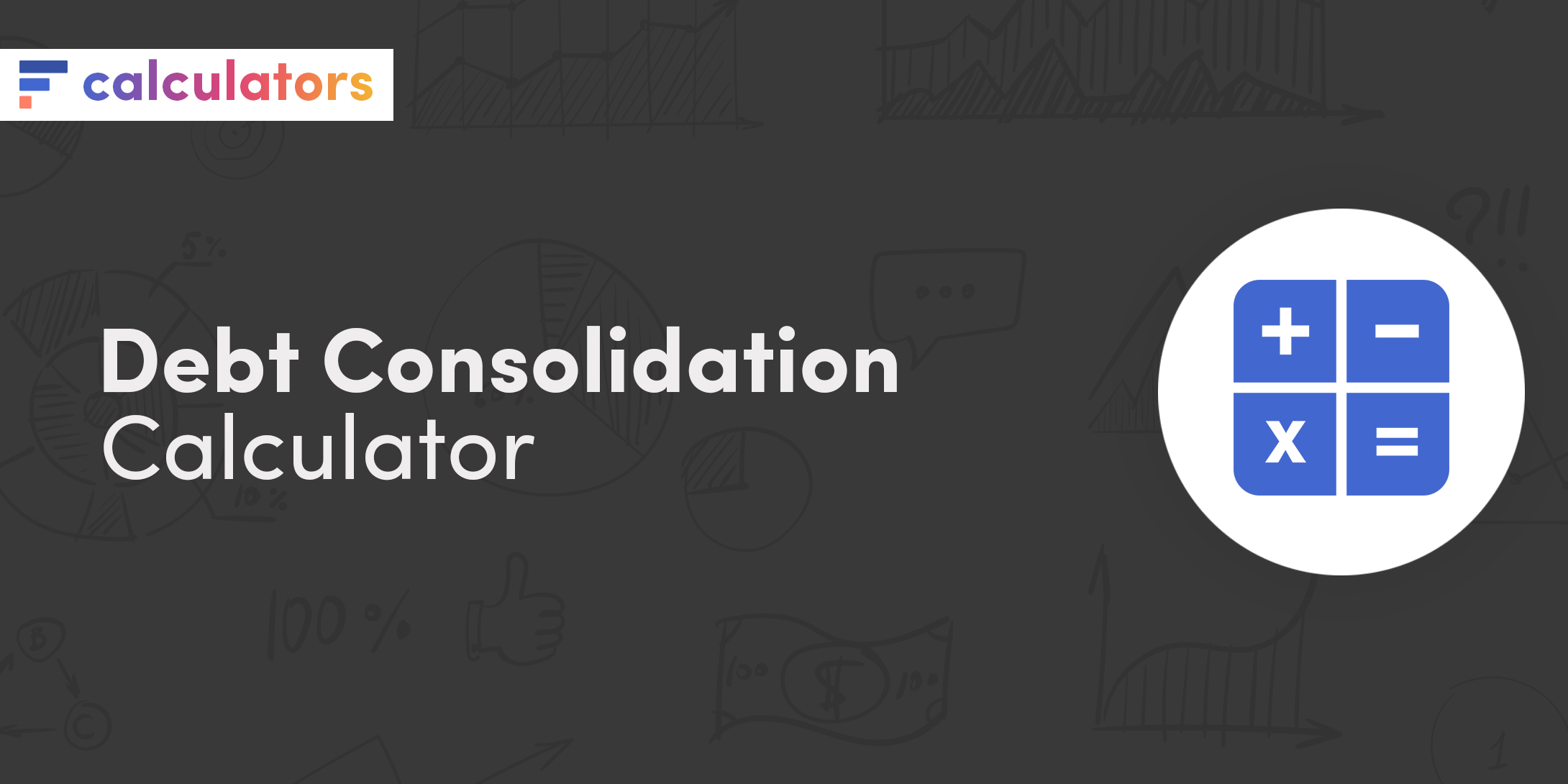 Debt consolidation calculator
