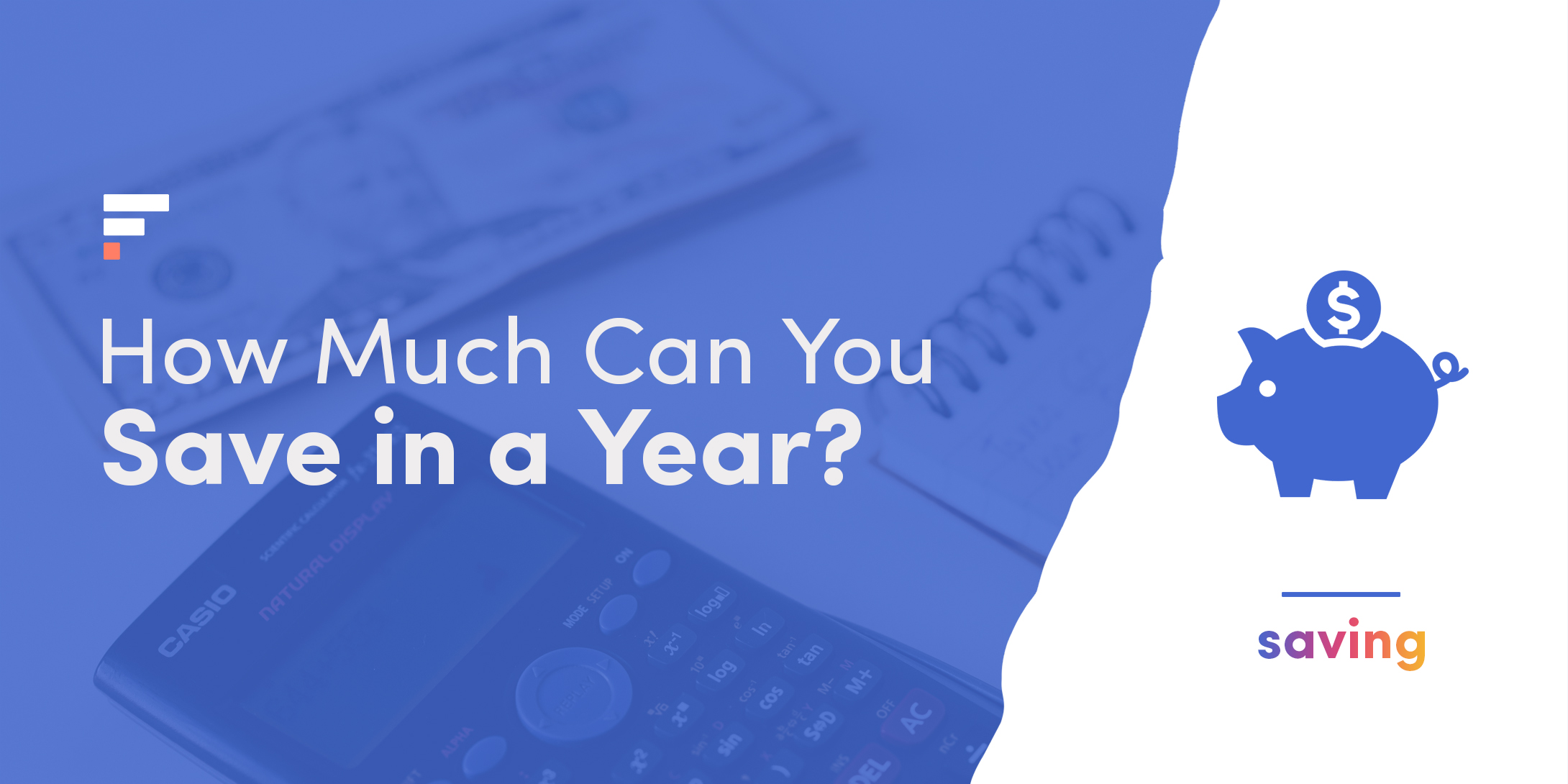 How much can you save in a year?