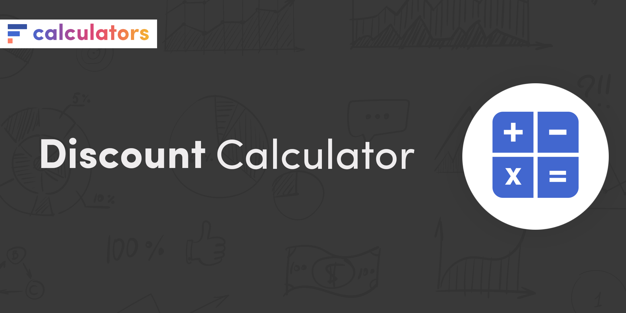 Discount calculator with sales tax