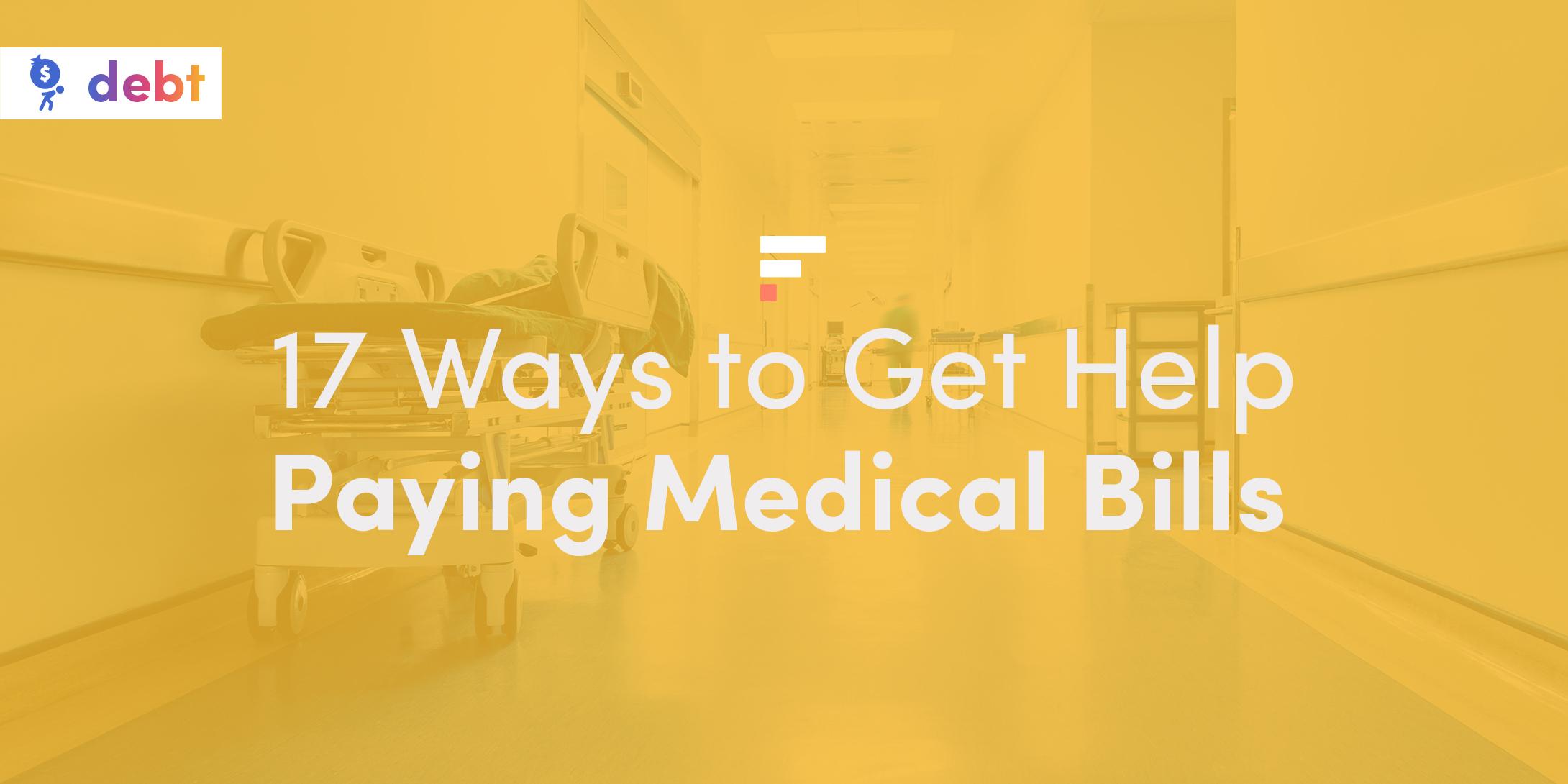 Get help paying medical bills