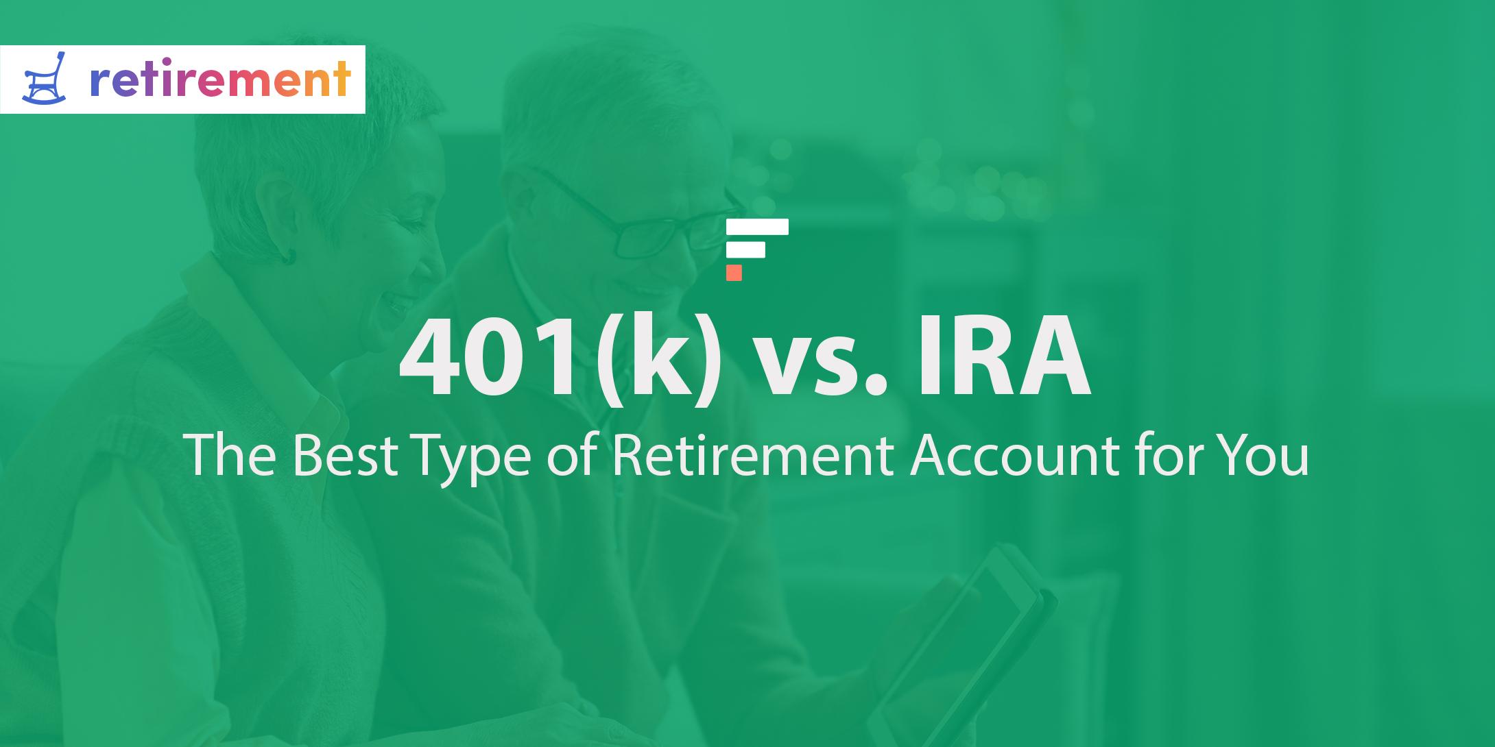 401(k) vs IRA
