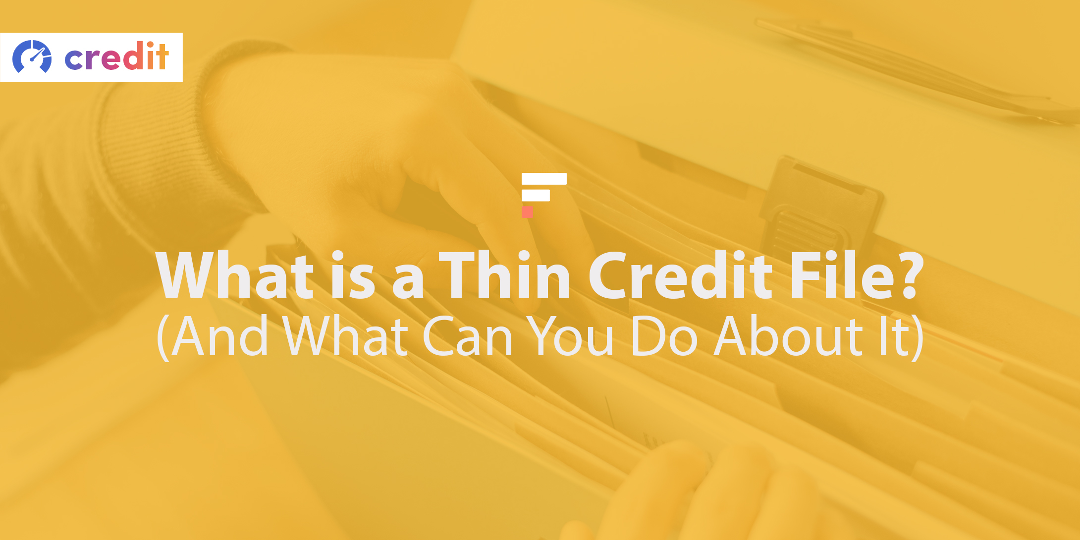 What is a thin credit file