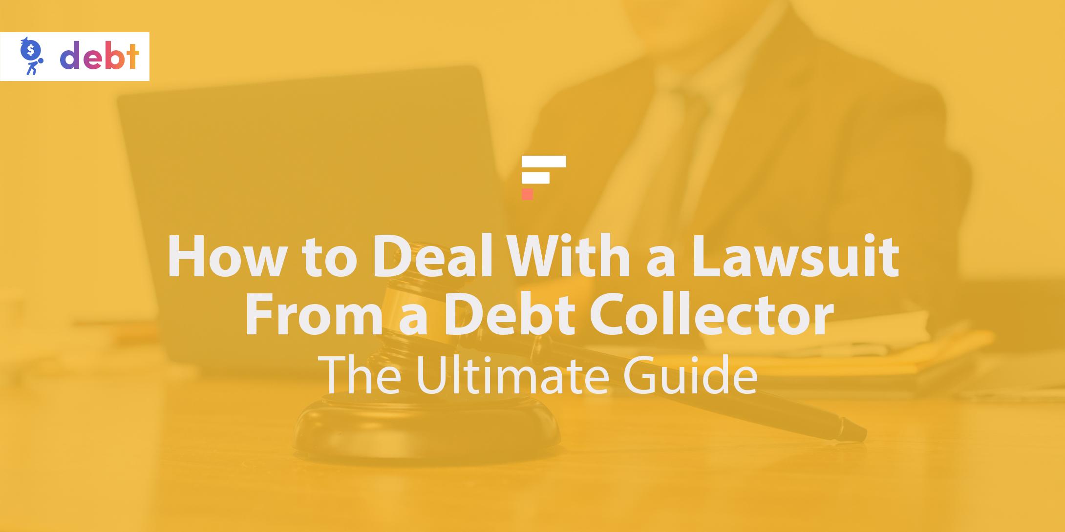 Sued by a debt collector