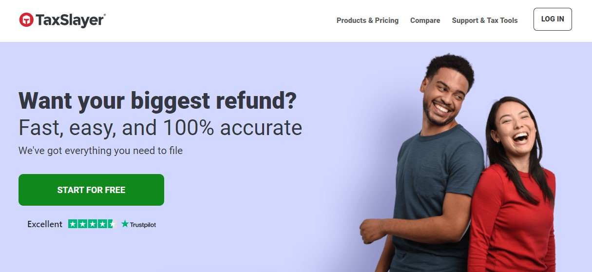 TaxSlayer Homepage