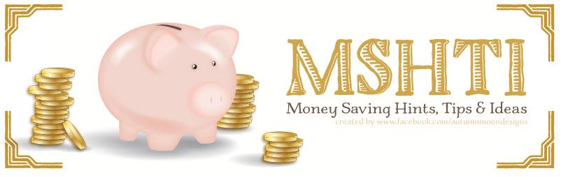 Money Saving Hints, Tips and Ideas Facebook group