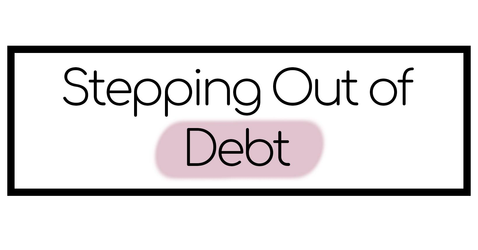 Stepping Out of Debt – A Women's Finance Group Facebook group