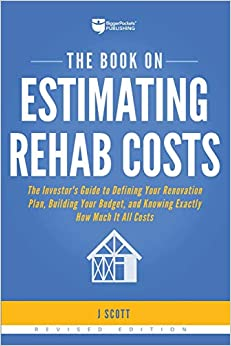 The Book on Estimating Rehab Costs book cover
