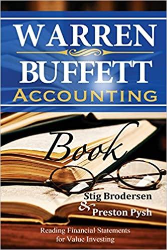 Warren Buffett Accounting Book cover
