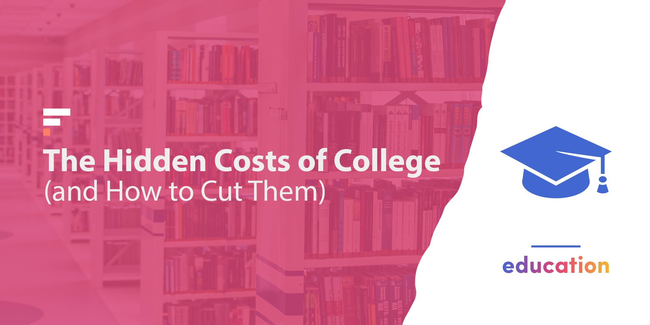 Hidden costs of college