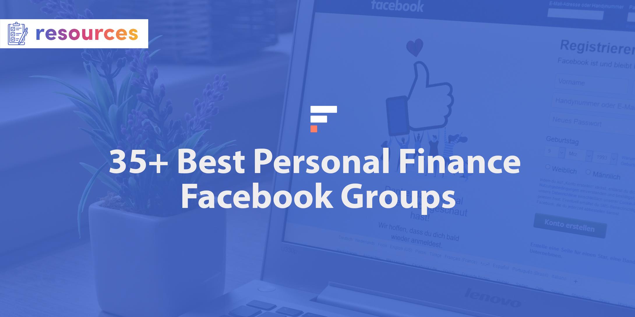 Best personal finance Facebook groups