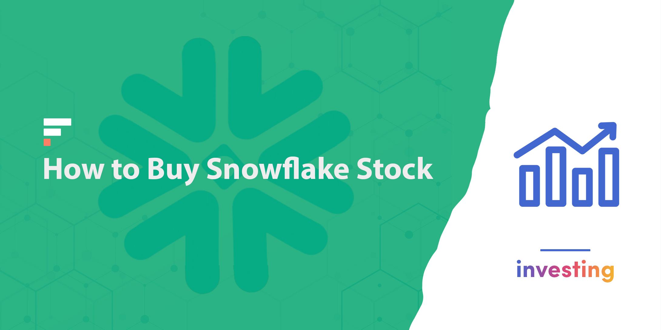 How buy Snowflake stock