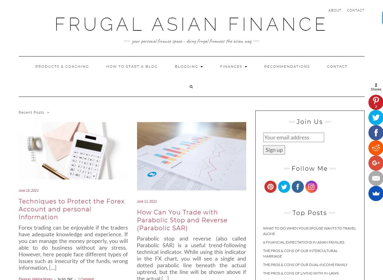 Frugal Asian Fina