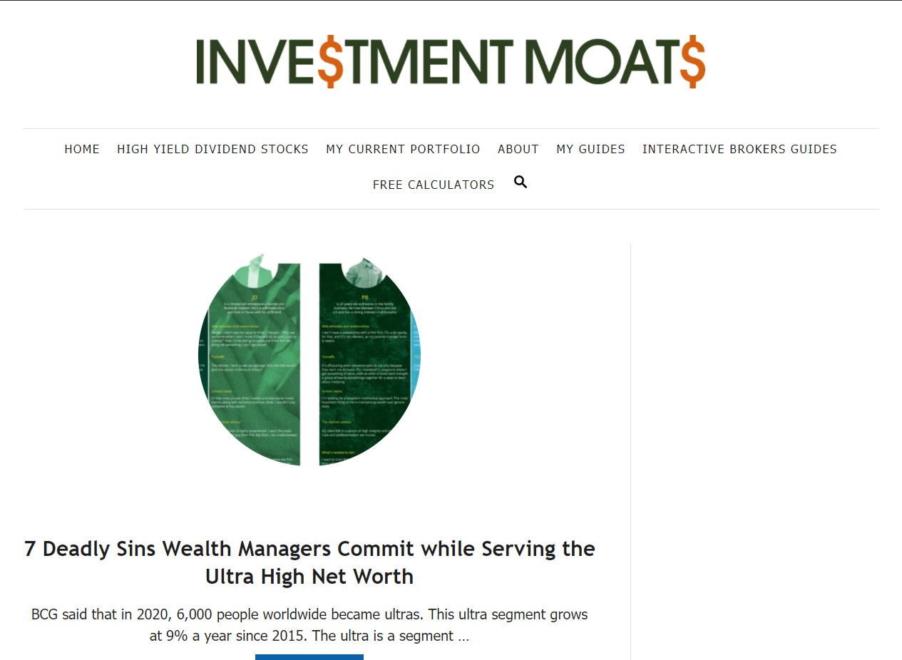 Investment Moats