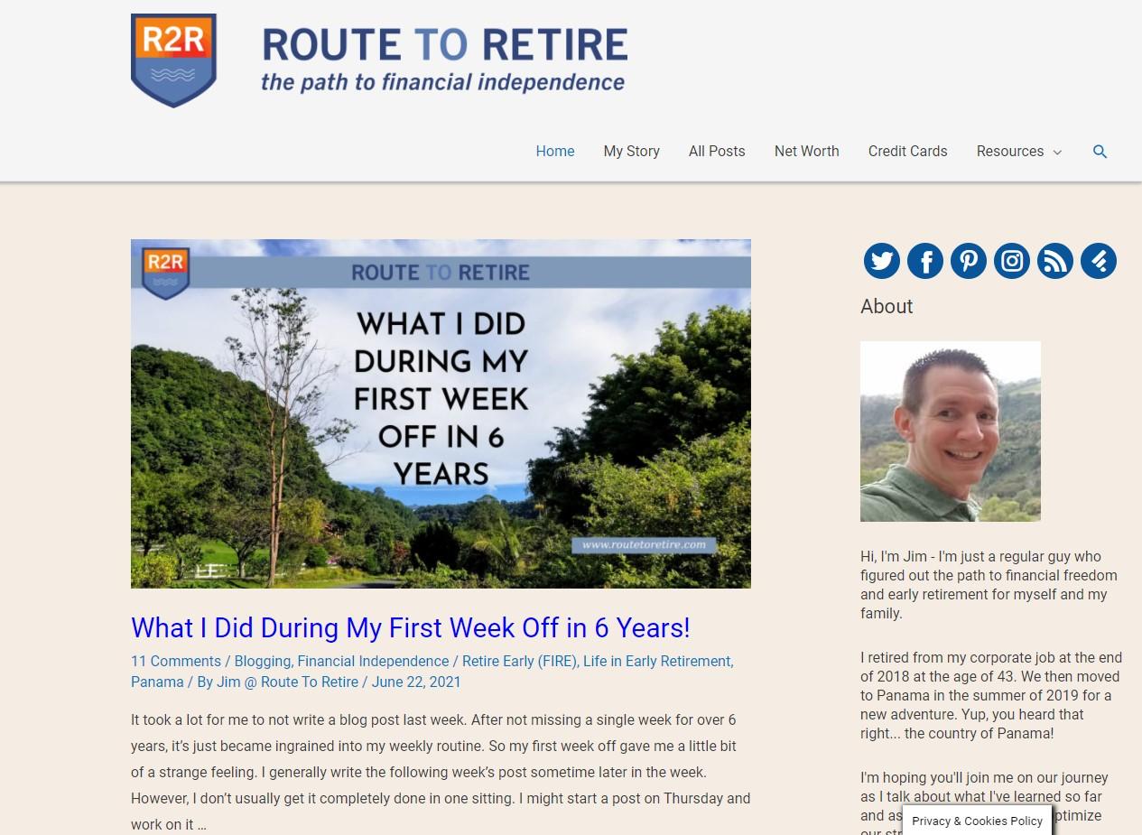 Route to Retire