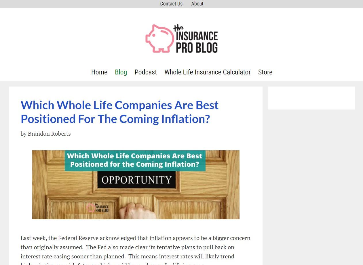 The Insurance Pro Blog