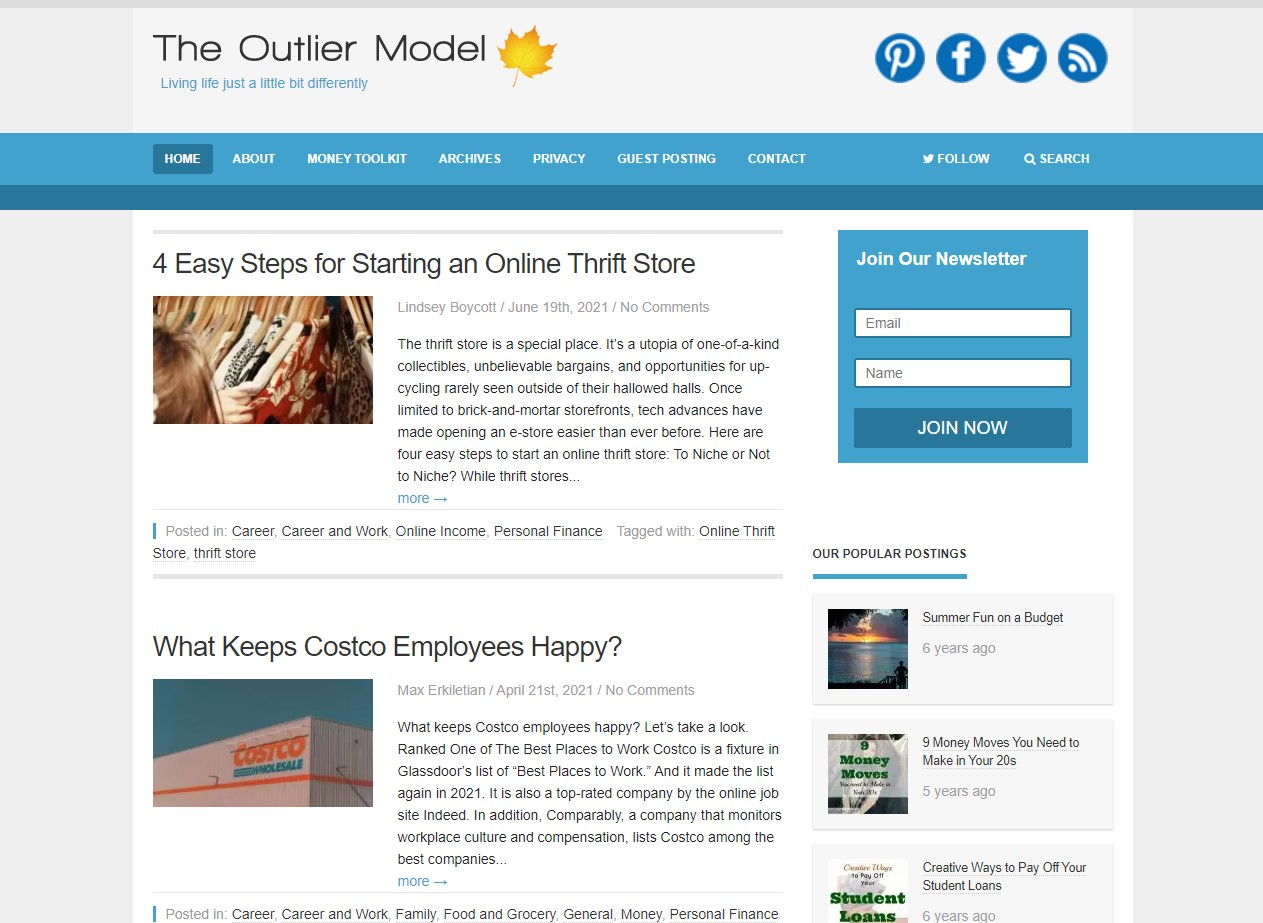 The Outlier Model