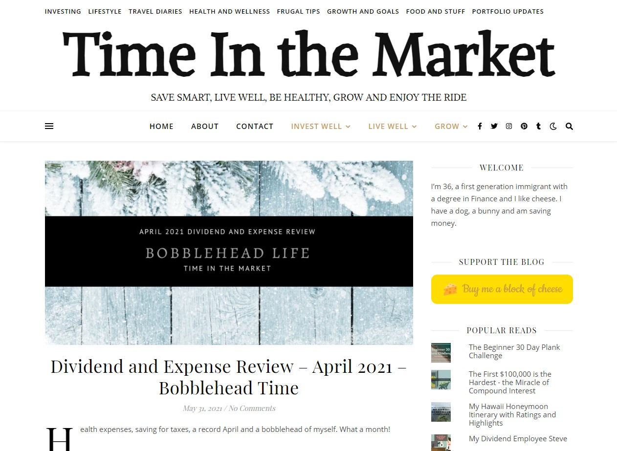 Time in the Market