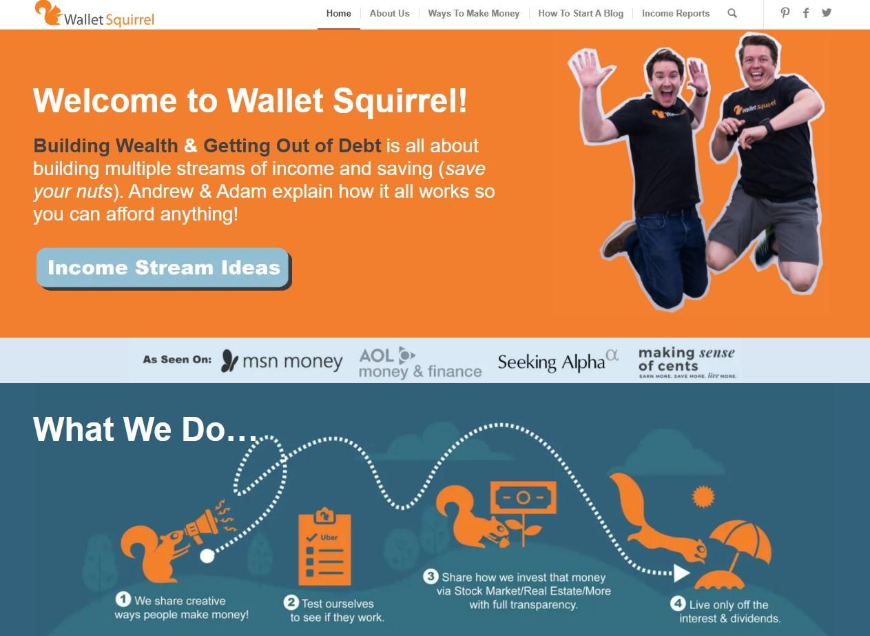 Wallet Squirrel