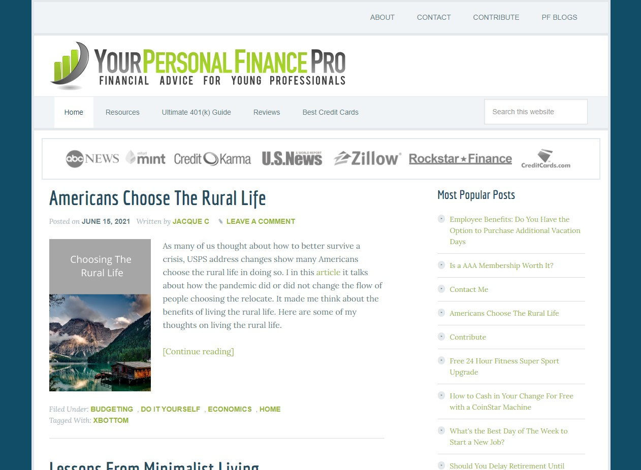 Your Personal Finance Pro