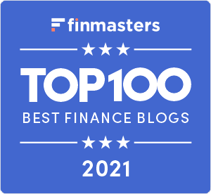 FinMasters Best Finance Blogs Badge (blue big)