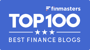 FinMasters Best Finance Blogs Badge (blue small)