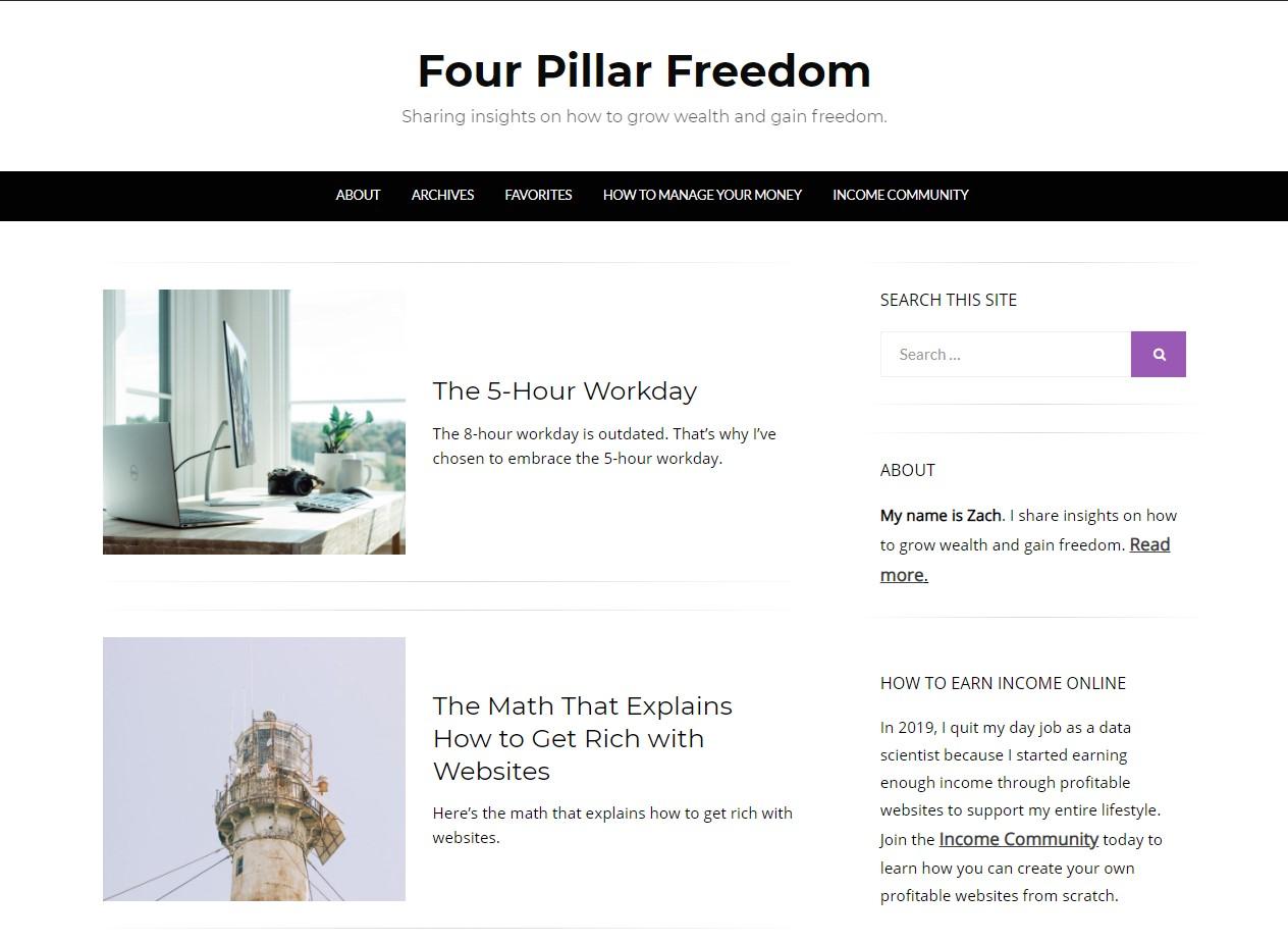 four pillar freedom