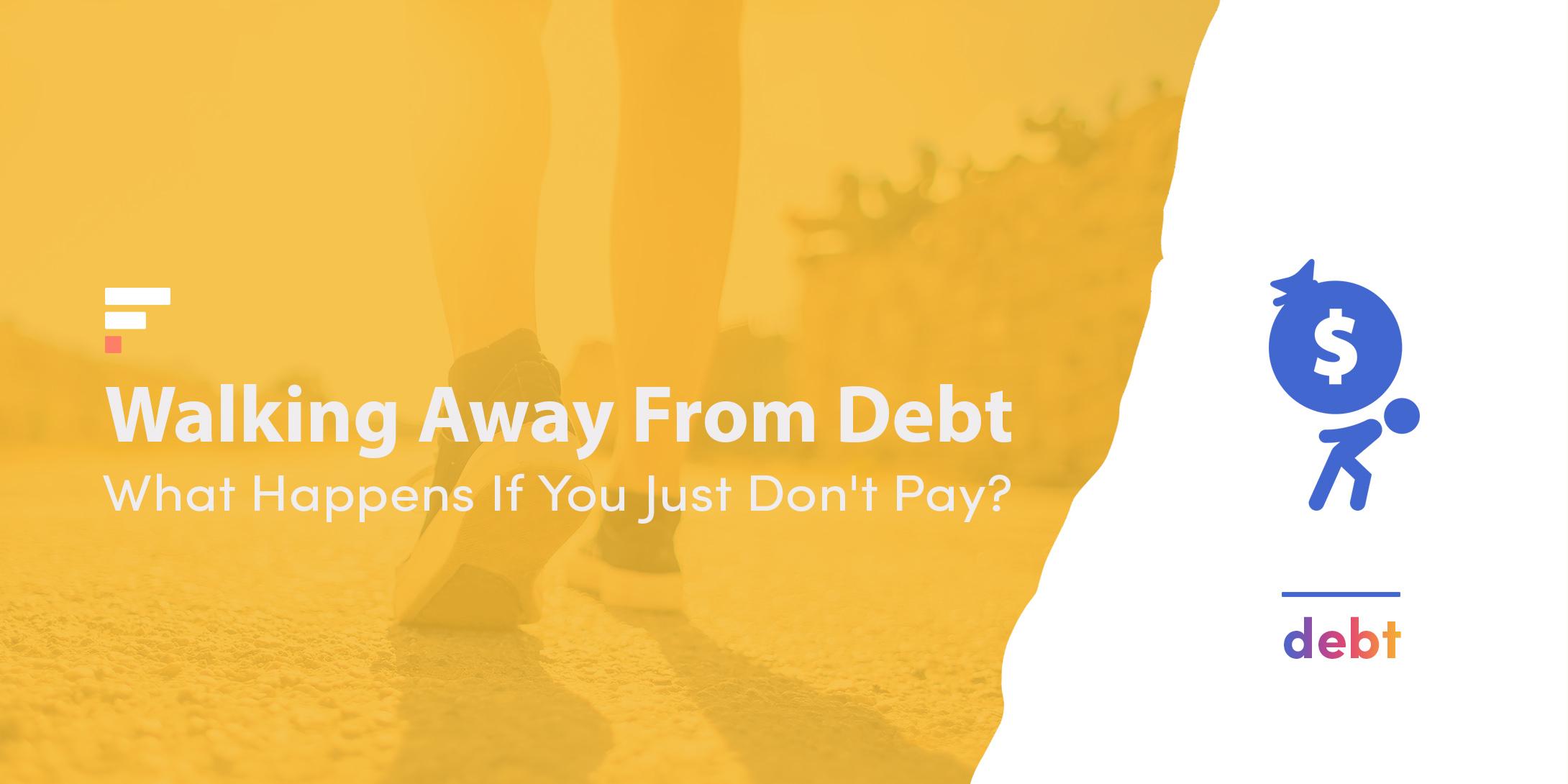 Walking away from debt