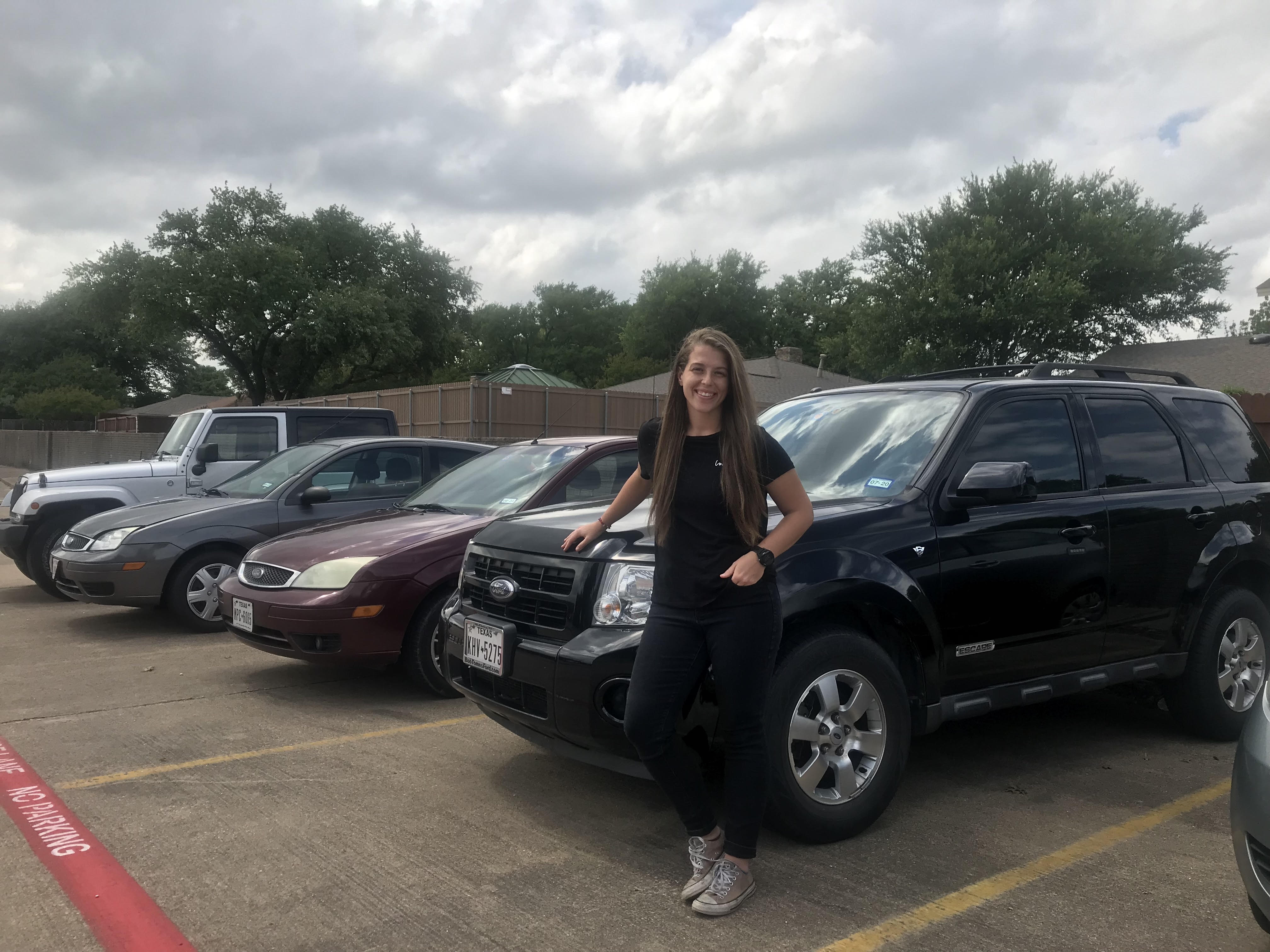 Aubrey Janik, Turo car sharing business
