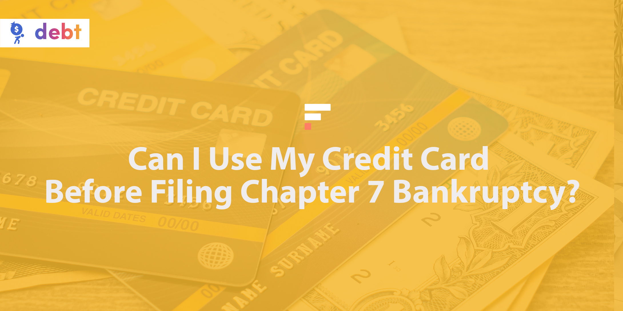 Can I use my credit card before filing Chapter 7 bankruptcy?