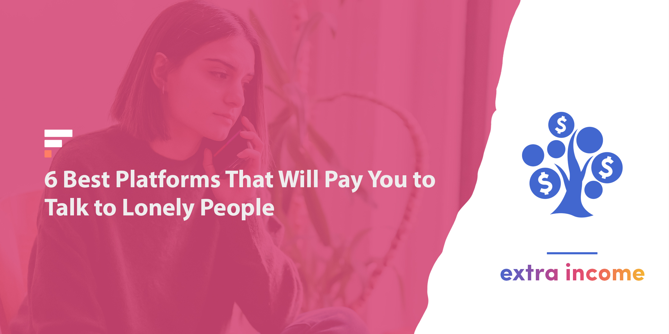 Get paid to talk to lonely people