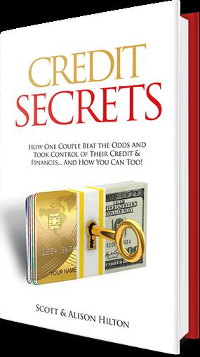 Credit Secrets book cover