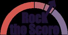 Rock the Score logo