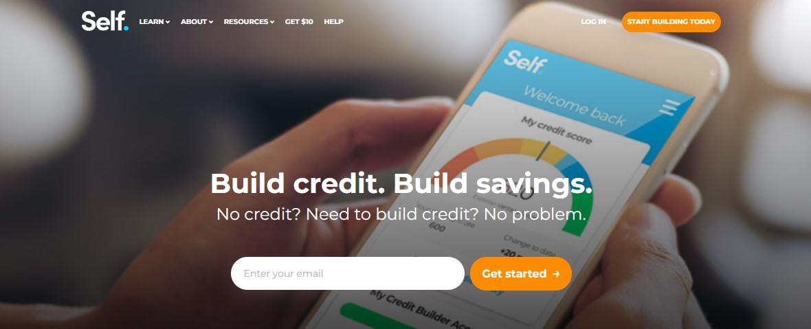 Self credit builder loan website