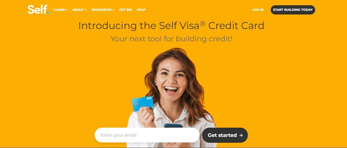 Self Visa credit card