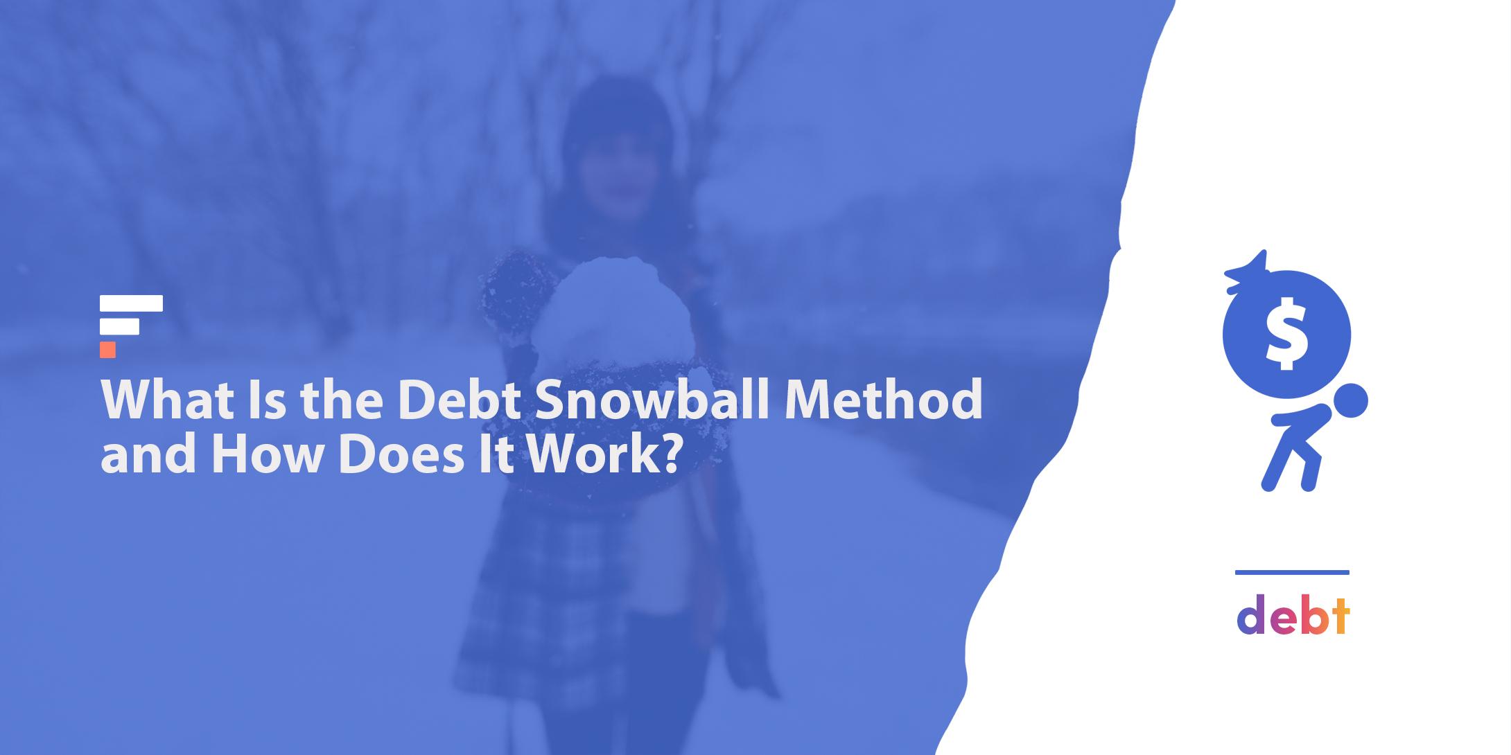 Debt snowball method